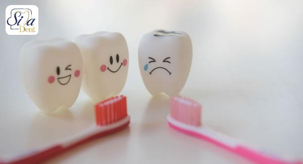 علل آسیب دندان ها