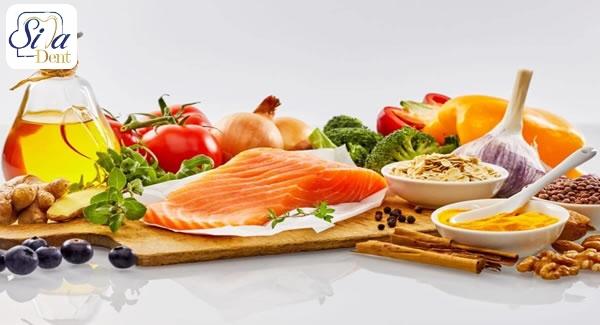 مواد غذایی مفید برای سلامت دندان و لثه