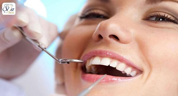 چکاپ دندان و درمان خشکی دهان