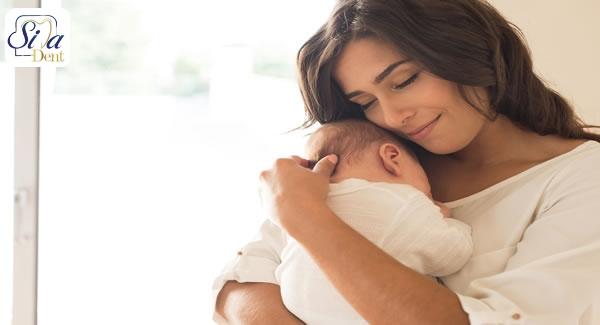نشانه های پوسیدگی دندان در دوران بارداری