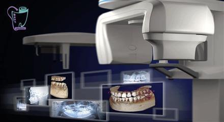 تصویر إشعائی لطب الأسنان